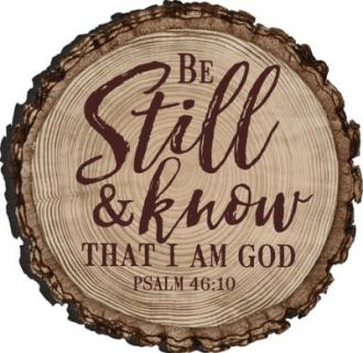 MGT 0108 Magnet - Be Still & Know That I Am God (Psalm 46:10)
